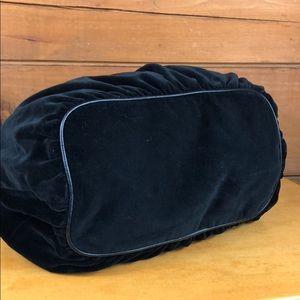 Marc Jacobs Bags - Marc Jacobs 🐦 Black Velvet Slouchy Shoulder Bag